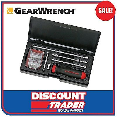 GearWrench 26 Piece Ratcheting Screwdriver Set - 8926D