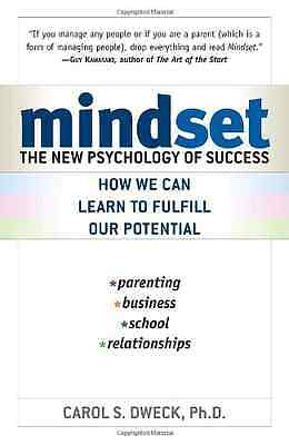Mindset: The New Psychology of Success - Paperback NEW Dweck, Carol S. 2007-12-2