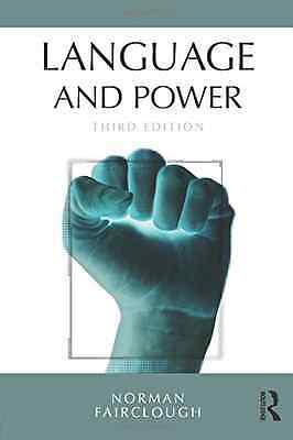 Language and Power - Paperback NEW Norman Fairclou 2014-09-04
