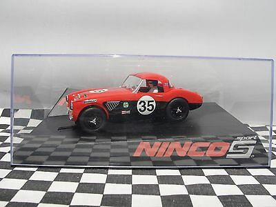 Ninco Austin Healey Sport Red #35  50608   1:32 New Old Stock