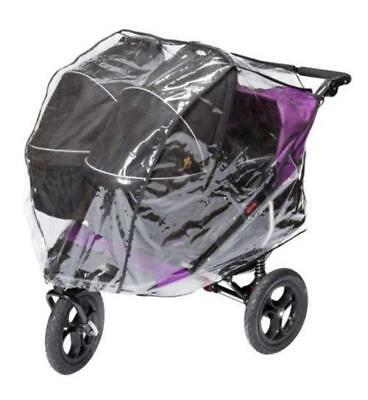 Out n About Nipper Carrycot XL Double Rain Cover