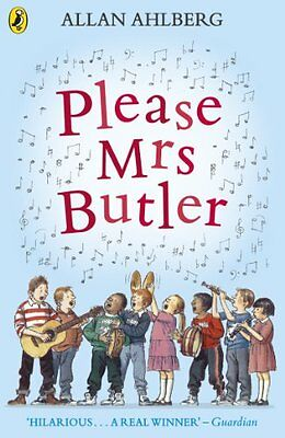 Please Mrs Butler: Verses (Puffin Books), Ahlberg, Allan Paperback Book The