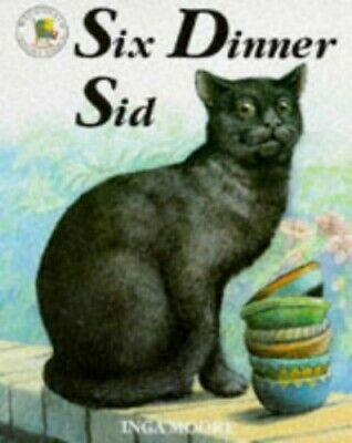 Six Dinner Sid (Picture Books), Moore, Inga Paperback Book The Cheap Fast Free