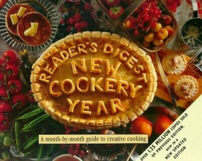 New Cookery Year, Reader's Digest Hardback Book The Cheap Fast Free Post
