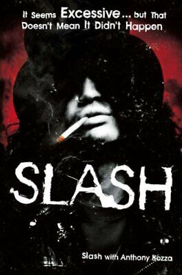 Slash: The Autobiography, Slash Hardback Book The Cheap Fast Free Post