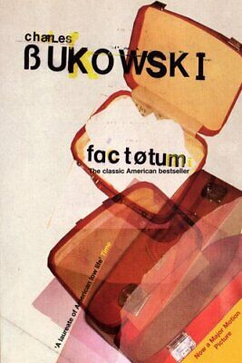 Factotum, Bukowski, Charles Paperback Book The Cheap Fast Free Post