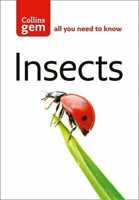 Insects (Collins Gem) by Chinery, Michael Paperback Book The Cheap Fast Free