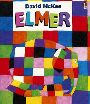 Elmer: The Story of a Patchwork Elephant by McKee, David Paperback Book The