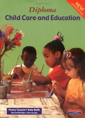 Diploma in Child Care and Education: Student Book... by Tassoni, Penny Paperback