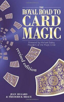 The Royal Road to Card Magic by Frederick Braue Paperback Book The Cheap Fast