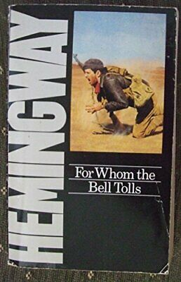 For Whom the Bell Tolls, Hemingway, Ernest Paperback Book The Cheap Fast Free
