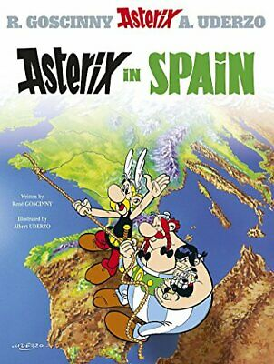 Asterix in Spain by Uderzo, Albert Paperback Book The Cheap Fast Free Post