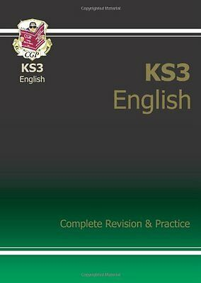 KS3 English Complete Revision & Practice, CGP Books Paperback Book The Cheap