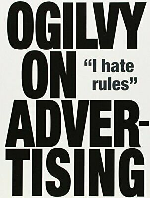 Ogilvy on Advertising by Ogilvy, David Paperback Book The Cheap Fast Free Post