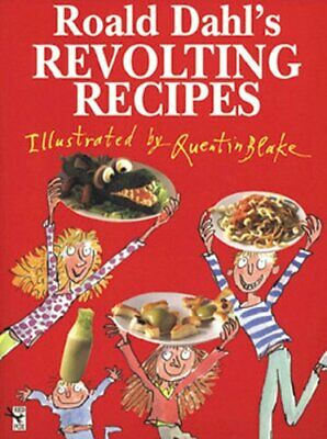 Roald Dahl's Revolting Recipes by Dahl, Roald Hardback Book The Cheap Fast Free