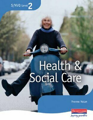 S/NVQ Level 2 Health and Social Care: Candidate Han... by Yvonne Nolan Paperback
