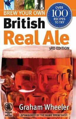Brew Your Own British Real Ale (Camra) by Graham Wheeler Paperback Book The