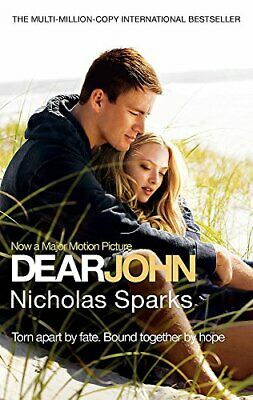 Dear John, Sparks, Nicholas Paperback Book The Cheap Fast Free Post