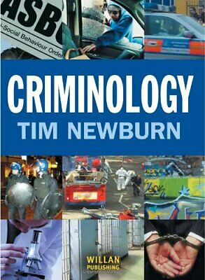 Criminology by Newburn, Tim Paperback Book The Cheap Fast Free Post