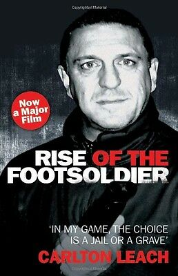 Rise of the Footsoldier, Carlton Leach Paperback Book The Cheap Fast Free Post