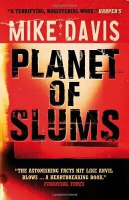 Planet of Slums, Mike Davis Paperback Book The Cheap Fast Free Post