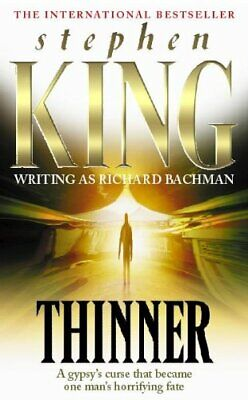 Thinner by Stephen King Paperback Book The Cheap Fast Free Post