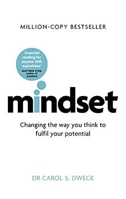 Mindset: How You Can Fulfil Your Potential by Dweck, Carol Book The Cheap Fast