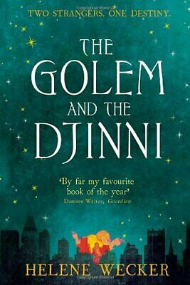 The Golem and the Djinni by Wecker, Helene Book The Cheap Fast Free Post
