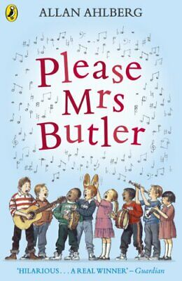 Please Mrs Butler: Verses (Puffin Books) by Ahlberg, Allan Paperback Book