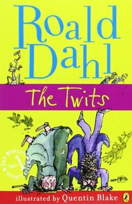 The Twits by Dahl, Roald Paperback Book The Cheap Fast Free Post