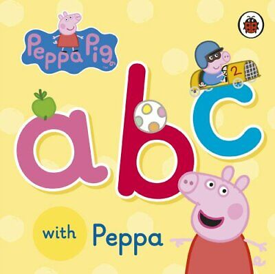 Peppa Pig: ABC with Peppa by Ladybird Book The Cheap Fast Free Post