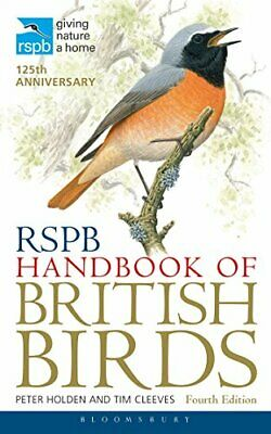RSPB Handbook of British Birds by Holden, Peter Book The Cheap Fast Free Post