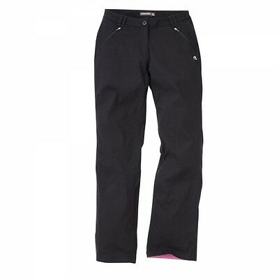 Craghoppers Kiwi Pro Winter Lined Trousers black Damen Thermohose
