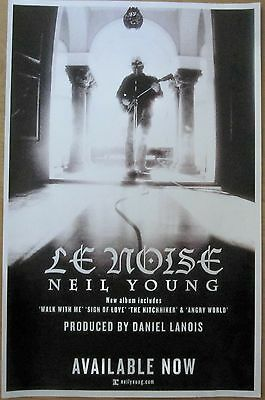 Neil Young - LE NOISE Promo Poster [2010] - VG++