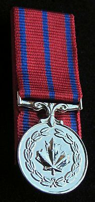 Canada Canadian MB Medal of Bravery Mini  Miniature Court Mounted Medal