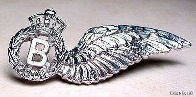 Canada Royal Canadian Air Force Bomb Aimer Sweetheart Pin Metal Wing RCAF