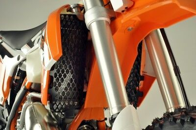 Trail Tech Radiator Guards Black For KTM 125-500 0150-RB02