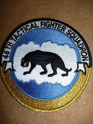 USAF - 46th Tactical Fighter Squadron Patch