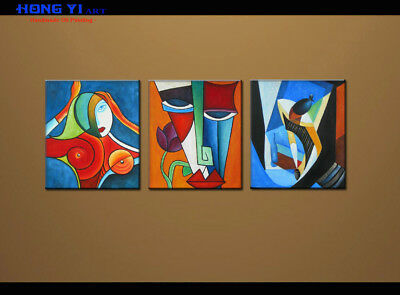 Large MODERN ABSTRACT OIL PAINTING On Canvas Contemporary Wall Art Decor oil063