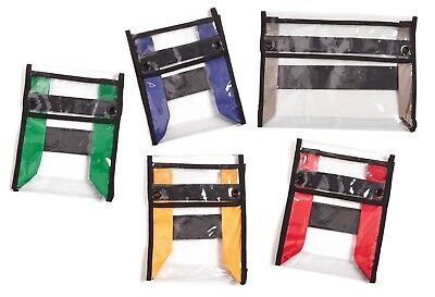 Paramedic/Medical/Emergency Drugs Pouches- Set of 5