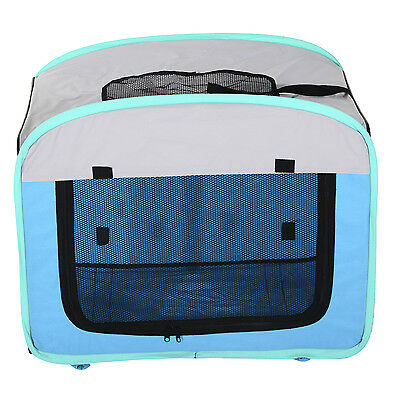 PROMOTION Portable Pet Carrier Dog Soft Crate Cage Tent House Travel Waterproof