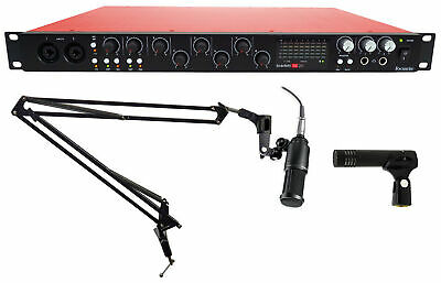 Focusrite SCARLETT 18I20 USB 2.0 Audio Interface+(2) Audio Technica Studio Mics