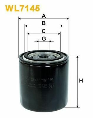 To Clear - New Oe Quality Wix - Oil Filter - Wl7145