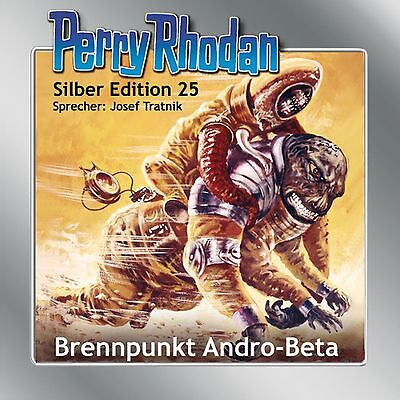 13 CD Perry Rhodan Silber Edition 25 Brennpunkt Andro-Beta