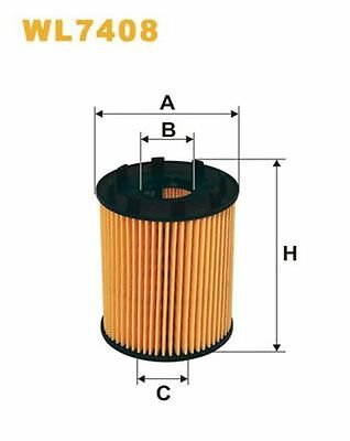 To Clear - New Oe Quality Wix - Oil Filter - Wl7408