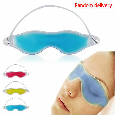 Gel Eye Mask Cold Pack Warm Heat Ice Sleeping Tired Mask