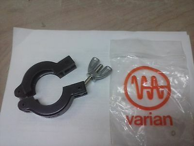 (6)Varian KF-25 (NW-25) Wing Nut Clamp