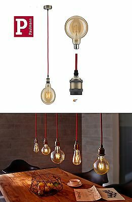 Paulmann Led Vintage Pendel 25Watt In Retro Globe E27 Gold Filament