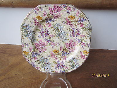 Nelson Ware Flower Chintz China Side Plate 6 1/2 inch