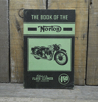 Vintage The Book Of The Norton 1932-39 Mc Motorcycle Handbook How To Manual Old